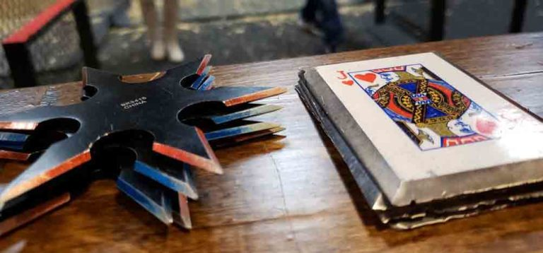 More Than Axe Throwing – How to Throw Ninja Stars and Throwing Cards Featured Image