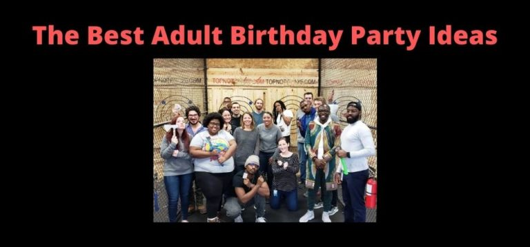 The Best Adult Birthday Party Ideas Featured Image