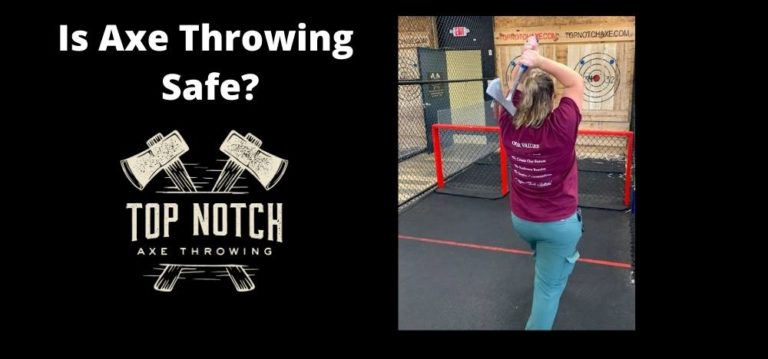 Is Axe Throwing Safe? Featured Image