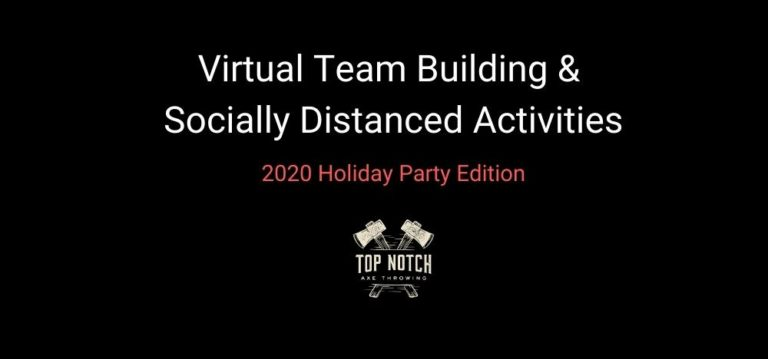 Virtual Team Building & Socially Distanced Activities – 2020 Holiday Party Edition Featured Image