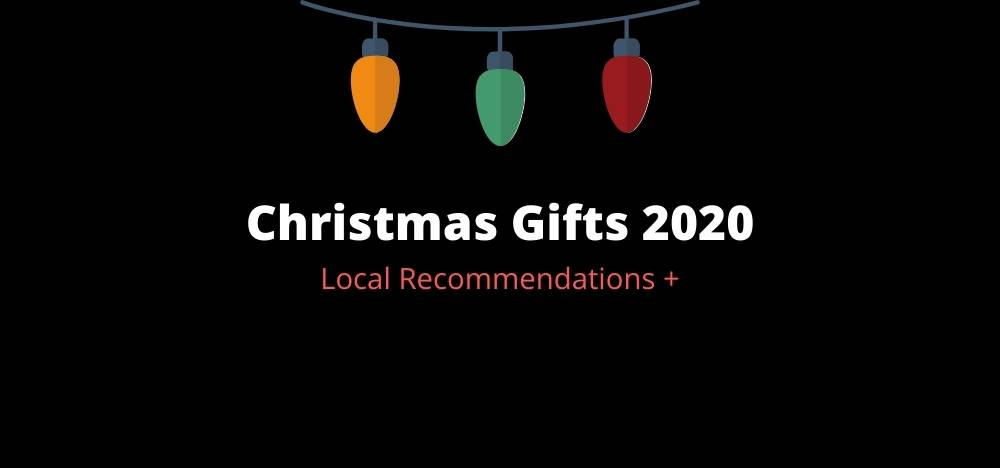 Christmas gift recommendations 2020 visual