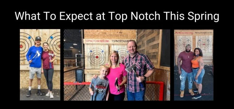 What To Expect at Top Notch Axe Throwing This Spring (2021) Featured Image